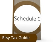 Schedule C - Taxes for Etsy Sellers, COGS, Sales, IRS, Etsy Tax Guide, Taxes 101, Legal Etsy Shop, Tax Deductions, Paying Taxes Etsy Sales