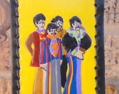 Luggage Tag with Beatles
