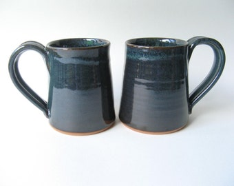 Stoneware Mugs Set of Two