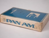 Vintage, Unopened Pan Am Playing Cards