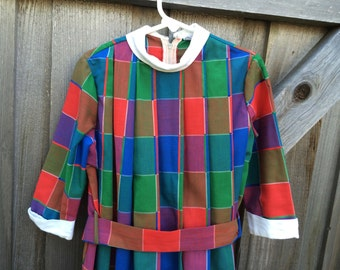 1960s Girls Dress 5/6