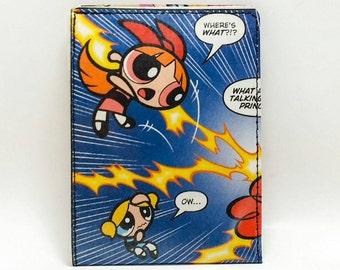Sewn Comic Book Wallet - Powerpuff Girls