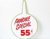 Vintage Pancake Special Sign