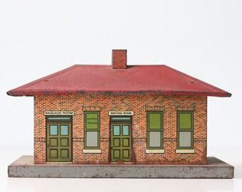 Vintage Train Station, American Flyer Ticket Office