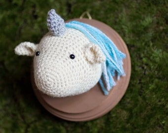Mini Unicorn Taxidermy