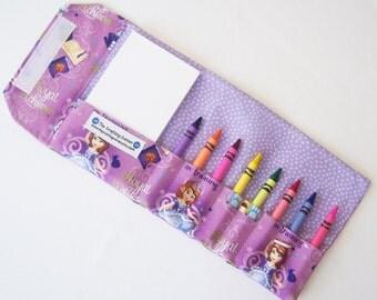 Crayon Wallet - Princess Sofia