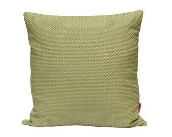 Pale Green Accent Pillow, cushion cover, accent pillow, upholstery fabric, pillow sham, designer pillow, decorative couch pillow by EllaOsix