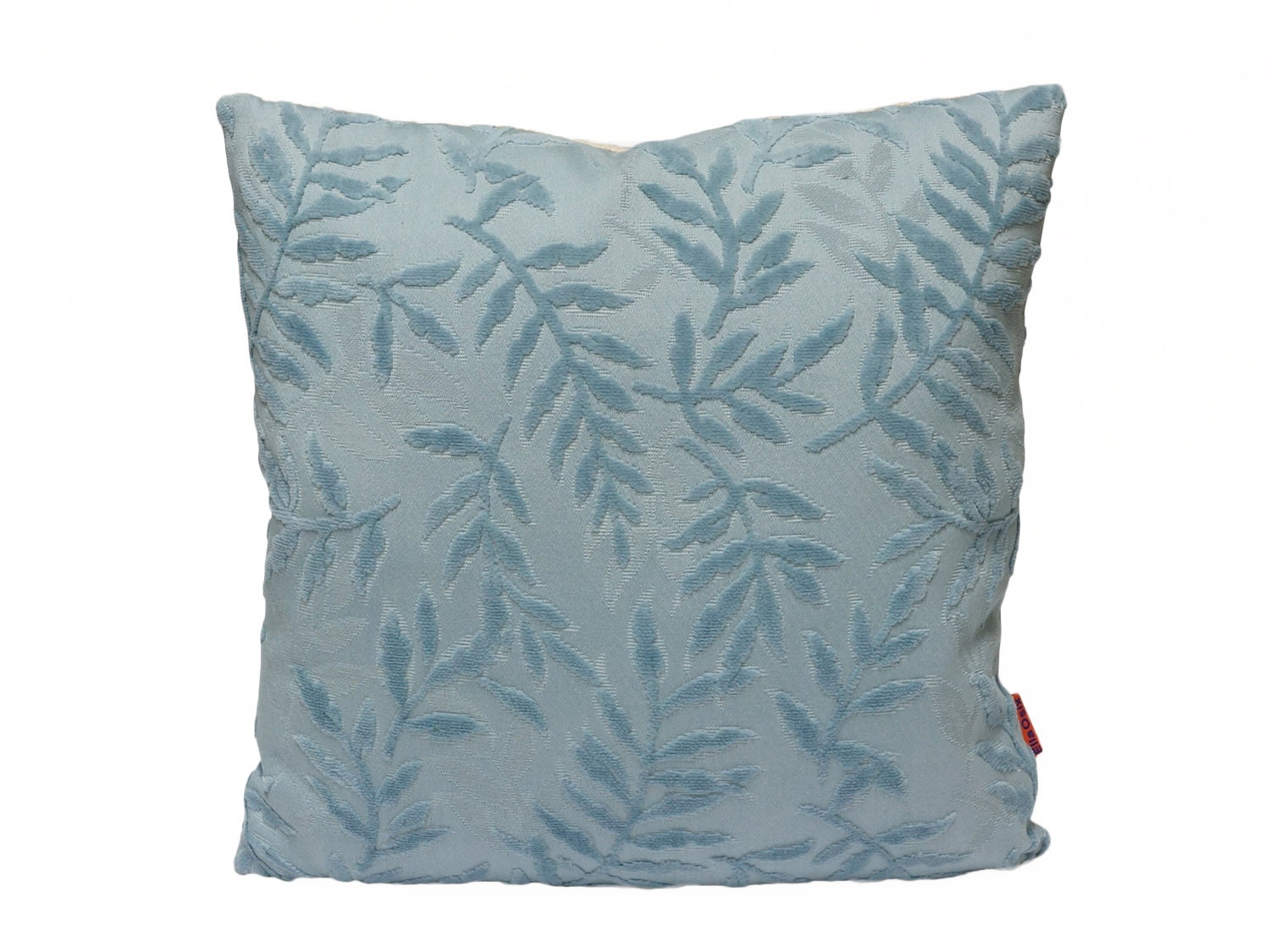 Luxury Blue Velvet Pillow throw pillow decorative pillow