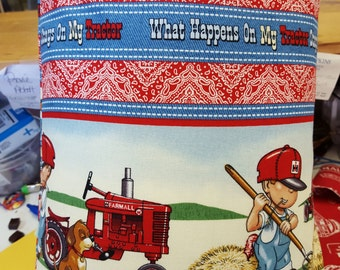 My Little Red Tractor  Farmland Travel Size Pillow  Cases