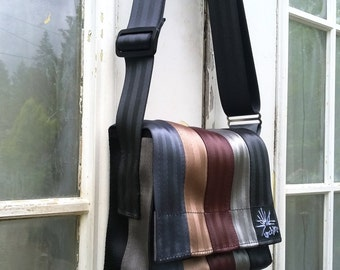 Seatbelt Bag - Vegan Purse - Recycled Bag