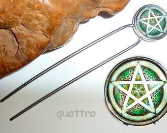 Quattro Hair Fork - Pentagram