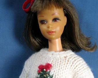 Francie Clothes - Christmas Tree Sweater and Slacks Set