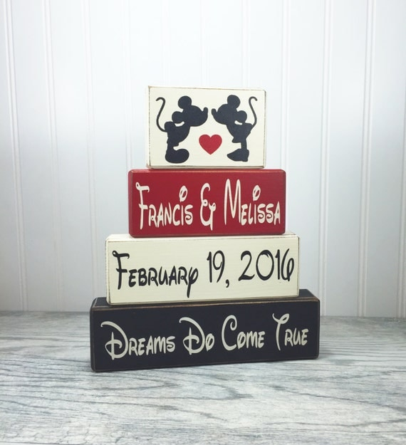 mickey and minnie wedding gift anniversary gift by
