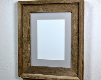 Beautiful eco friendly 8 x 10 picture frame with 5 x 7 or 8 x 6 mat