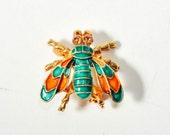 Vintage Lisner Bee Brooch