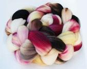 "Superwash Merino Wool Spinning Fiber, 4 oz, ""Delicacy"""