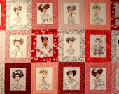 Nifty Nurses panel by Loralie Designs  (#95X)