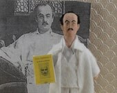 Khalil Gibran Writer Doll Miniature Writer and Author
