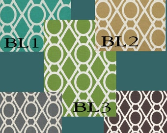 Lattice Bamboo Drapes - Lined (Pick the color and size)