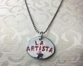 LA ARTISTA Ceramic Necklace