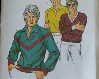 Kwik Sew Mens Shirt Pattern 997