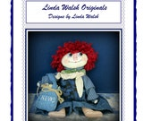 Read All About It Andy Country  Raggedy AndyDoll E-Pattern