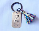 Lost But Found Tassel Keychain
