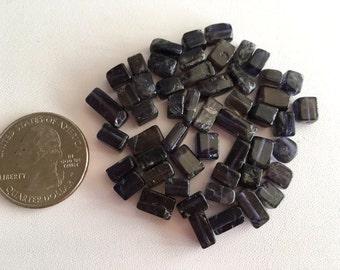 Labradorite Bead Mix, Misc Blue Labradorite Beads