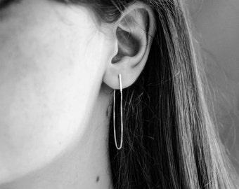 Gold chain stud earrings, minimalist gold earrings, everyday gold earrings, gold thread earrings, gold drop earrings, gold chain earrings