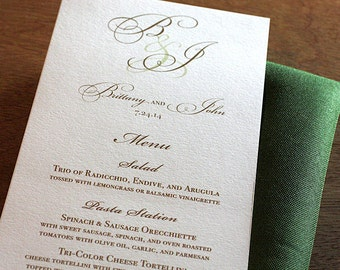 Driftwood Menu, Table Marker & Place Card Set