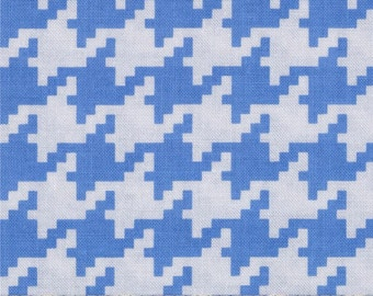 Michael Miller Everyday Houndstooth Boy - Cotton Quilting Fabric - 1 Yard