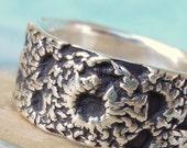 Boho Jewelry, Boho Gypsy Silver Ring, Handmade Fine Silver Ring, Bohemian Style Jewelry, Handmade Bohemian Fashion Silver Ring