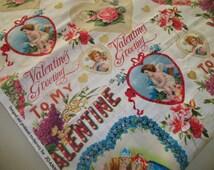 Retro Valentine Fabric