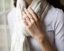 Blake Lively ring Yellow Sapphire Engagement Ring oval cut 14k rose gold diamond ring 9.76ct Lemon sapphire ring by Eidelprecious