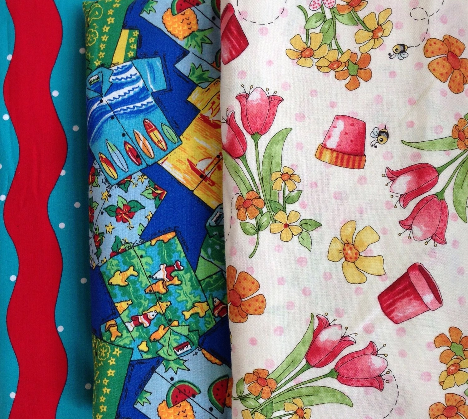 Sale fabric by the yard by scire4 on etsy for Fabric for sale by the yard