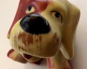 Vintage Woof! Ceramic Dog 1950's Collectable