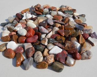 BP-L   Tumble Polished Rocks Agate Petrified Wood Jasper Natural Stones Crafts Jewelry Sand Trays Gifts