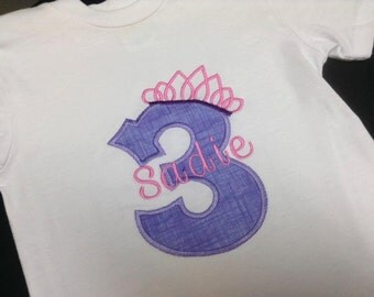 Birthday/Monogram Shirt or Onesie