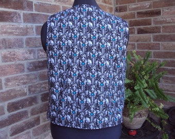 Dr. Who vest--adult size Med.  birthday gift