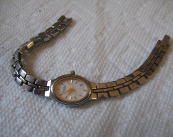 5 Dollar Listing Caravelle by Bulova Quartz Watch Works Needs New Wristband