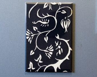 Flora & Fauna art magnet Number 1