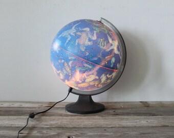 Light Up Illuminated Celestial Globe