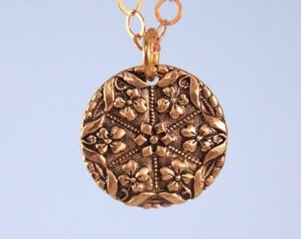 Iris Charm Necklace