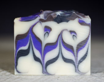 Blackberry Shave and a Haircut | Cold Process Soap | Handmade Soap | Natural Soap | Fattys Soap Co