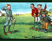Stymied on the Golf Course Refrigerator Magnet - Free US SHIPPING