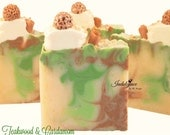 SOAP- Teakwood & Cardamom Handmade Vegan Artisan Soap/Christmas Soap/Unisex Soap/Gifts under 10