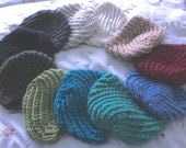 Hand-knit Hat Girls Juniors Small Women Your choice of colors