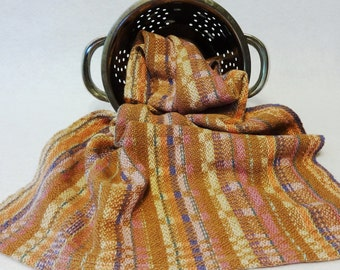 Handwoven Cotton/Linen Towel for Kitchen & Bath, Woven Towel,  Handtowel, Kitchen Towel, Handwoven Towel, Tea Towel, Breadcloth 16-20 Lt Mve