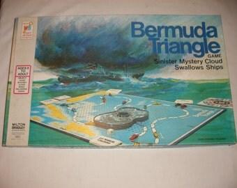 Vintage Board Game Bermuda Triangle by Milton Bradley 1976