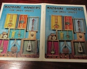 Vintage Macrame Pattern Leaflet Macrame Hangers for Small Spaces H228